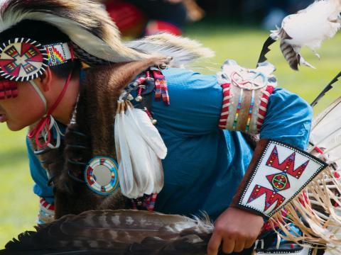 年度大草原印第安博物馆歌舞庆典