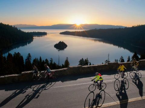 美国最美的骑行之路